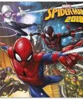 Spiderman kalender 2018 trend
