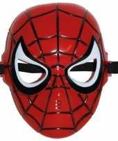Spiderman kinder masker rood trend