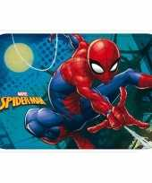 Spiderman kinder slaapkamer speelkleed vloerkleed 40 x 60 cm trend