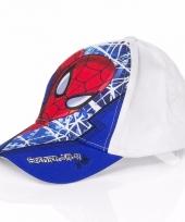 Spiderman kinderpetten kobalt blauw trend