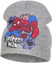 Spiderman muts grijs voor jongens trend