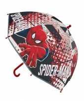 Spiderman paraplu voor jongens 45 cm trend