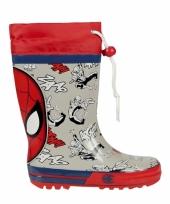 Spiderman regenlaarzen voor jongens trend