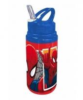 Spiderman schoolbeker blauw trend
