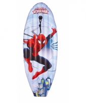 Spiderman surfboard luchtbed trend