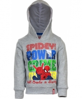 Spiderman sweater grijs trend