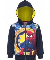 Spiderman vest blauw voor jongens trend