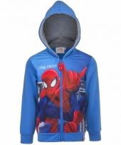 Spiderman vesten blauw voor jongens trend