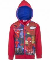 Spiderman vesten rood voor jongens trend