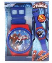 Spiderman wandklok 92 cm trend