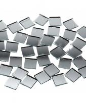 Spiegel mozaiek tegels 10x10 mm 500 stuks trend