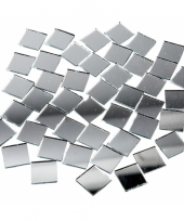 Spiegel mozaiek tegels 16x16 mm 500 stuks trend