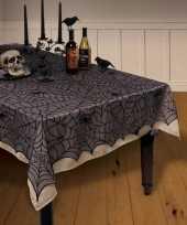 Spinnenweb kanten tafellaken tafelkleed 152x213 cm herbruikbaar trend