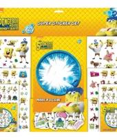 Spongebob stickertjes 500 stuks trend