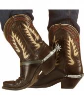 Sporen voor cowboy laarzen trend