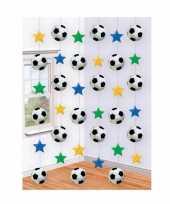 Sport versiering voetbal decoraties trend
