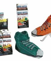 Sportschoen stijl schoenhoezen trend