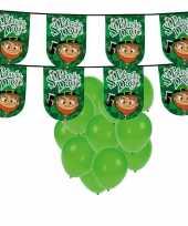 St patricks day versiering met ballonnen en slinger trend 10102679