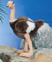 Staande pluche struisvogel knuffel 30 cm trend