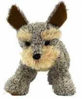 Staande welsh terrier knuffel hond 30 cm trend