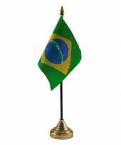 Standaard met vlaggetje brazilie trend