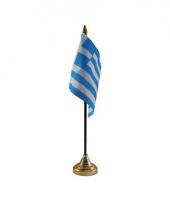 Standaard met vlaggetje griekenland trend