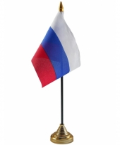 Standaard met vlaggetje rusland trend