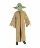 Star wars carnavalskleding yoda trend