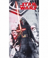 Star wars kylo ren badlaken 70 x 140 cm trend