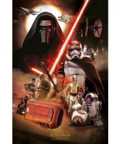 Star wars kylo ren filmposter trend
