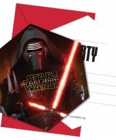 Star wars partijtje uitnodigingen trend