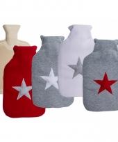 Sterretjes kruiken met hoes grijs rood 2 liter trend