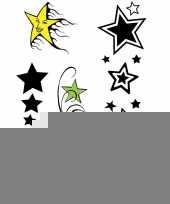 Sterretjes tatoeage set van 5 stuks trend