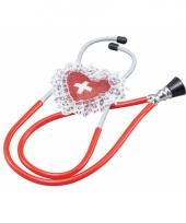 Stethoscoop rood trend