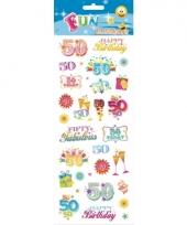 Stickers 50 jarige trend