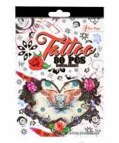 Stickervellen tattoo 280 stuks type classic trend