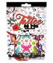 Stickervellen tattoo 280 stuks type girl trend