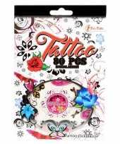 Stickervellen tattoo 280 stuks type love trend