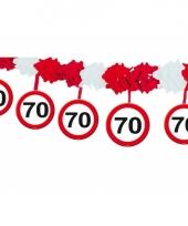 Stopbord slinger 4 meter 70 jaar trend