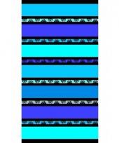 Strandlaken daisy blue 86 x 160 cm trend