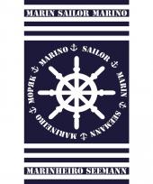 Strandlaken marinheiro 95 100 x 175 cm trend