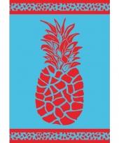 Strandlaken pineapple 140 x 200 cm trend