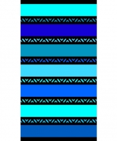 Strandlaken twisty blue 95 100 x 175 cm trend
