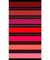 Strandlaken twisty coral 95 100 x 175 cm trend