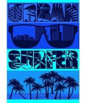 Strandlaken urban surfer 140 x 200 cm trend