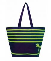 Strandtas bahia palm 58 cm trend
