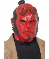 Stripfiguur hellboy masker trend