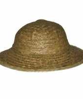 Strooien safari hoeden trend
