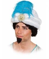 Sultan hoed met veer volwassenen trend