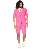 Summersuit roze voor heren trend